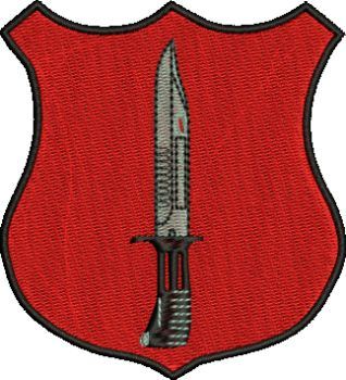 School of Infantry Embroidered Badge